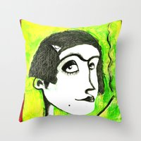 SMOKER ONE Throw Pillow