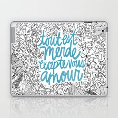 Excepte Vous Amour Laptop & iPad Skin