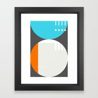 Spot Slice 01 Framed Art Print
