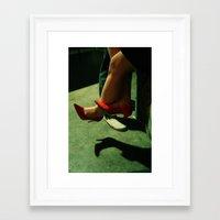 Heels Framed Art Print
