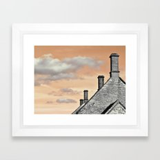 cloud factory... Framed Art Print