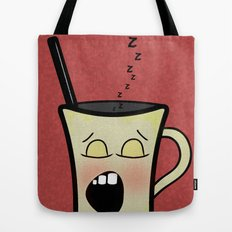 Sleepy Time Coffee  Tote Bag
