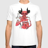 Precious Light Mens Fitted Tee White SMALL