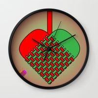Julekurv Wall Clock