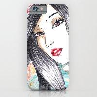 Geisha Glance iPhone 6 Slim Case