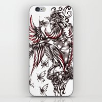 Butterfly's Diet iPhone & iPod Skin