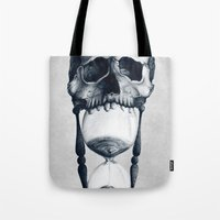 Demise Of Time Tote Bag