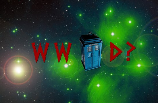 What Would Doctor Who Do? Art Print