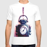 IRobot Mens Fitted Tee White SMALL