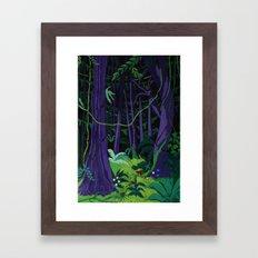 La Foresta Tropicale (Tropical Forest) Framed Art Print