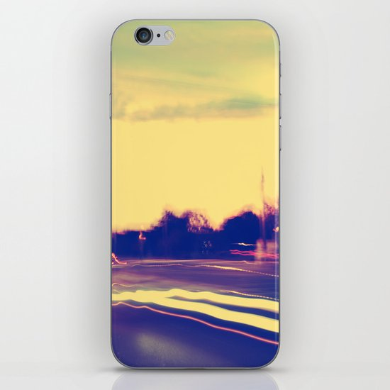 Chasing Pavements  iPhone & iPod Skin