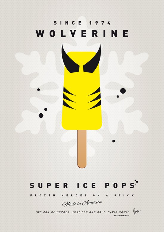 My SUPER ICE POP- No16 Art Print