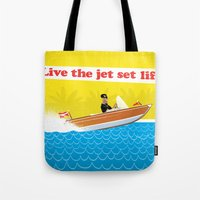 Live The Jet Set Life! Tote Bag