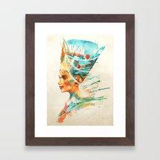 Nefertiti Framed Art Print