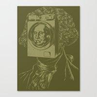 George WASHINGton Machin… Canvas Print