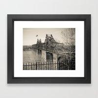 Welcome To Vicksburg 3 Framed Art Print