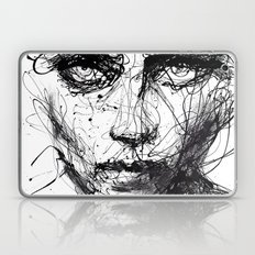 In Trouble, She Will. Laptop & iPad Skin