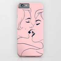 Kiss In Pink iPhone 6 Slim Case