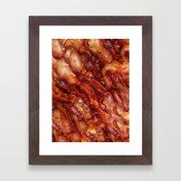 Baconcase. Framed Art Print