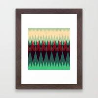 Living In The Summerwood… Framed Art Print