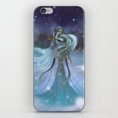 Lady Winter iPhone & iPod Skin