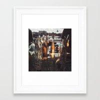 Sunday Sesh Framed Art Print
