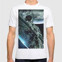 Milleniuim Falcon Mens Fitted Tee Ash Grey SMALL