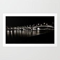 Margaret Bridge II. Art Print