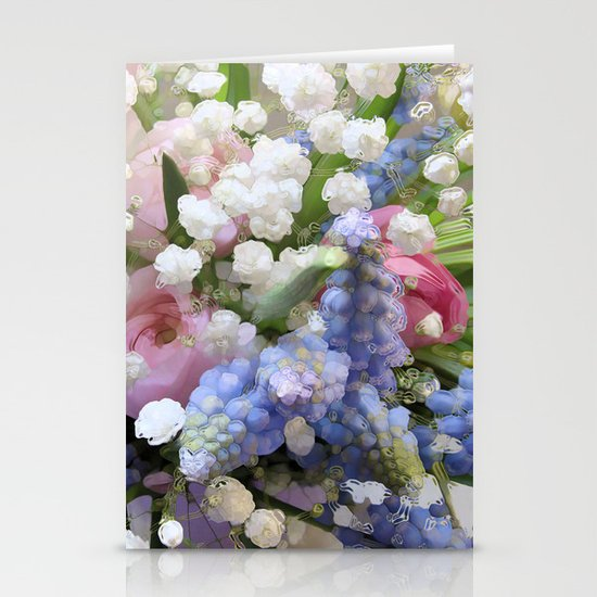 Spring Energy Stationery Card