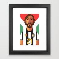 AP21   Bianconeri Framed Art Print