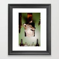 'Yote Framed Art Print