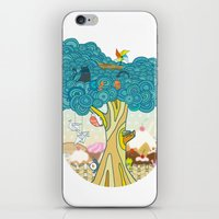Insect Sushi iPhone & iPod Skin