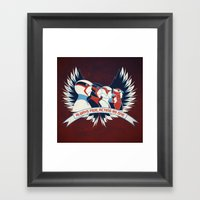 Always Five, Acting As One Framed Art Print
