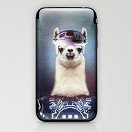 Llamatron iPhone & iPod Skin