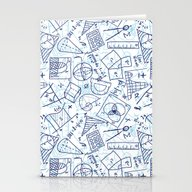 School Chemical #3 Stationery Cards