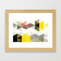 Modern Totem 01. Framed Art Print