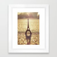 Paris, City of Light Framed Art Print