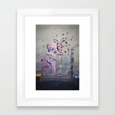 Graffskull Framed Art Print