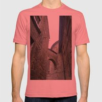 Orvieto Arches Mens Fitted Tee Pomegranate SMALL