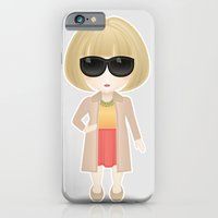 iPhone & iPod Case featuring Anna Wintour by Ricky Kwong