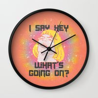 HEY MAN Wall Clock
