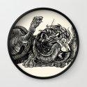 Lion Heart Wall Clock