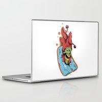 joker Laptop & iPad Skins featuring Joker by Creative   (with team MAF)