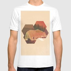 POLYBEAR SMALL Mens Fitted Tee White