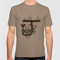 Joker Mens Fitted Tee Tri-Coffee SMALL