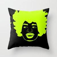 I __ Music Throw Pillow