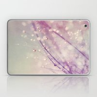 Vintage Feather Drops Laptop & iPad Skin