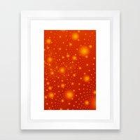 Hot Spots iPhone Case Framed Art Print