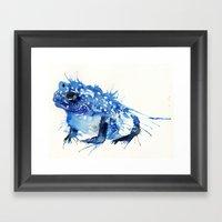 I Feel Blue Framed Art Print