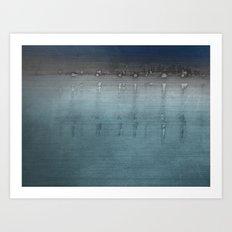 Landscape ~ Moonshine Art Print